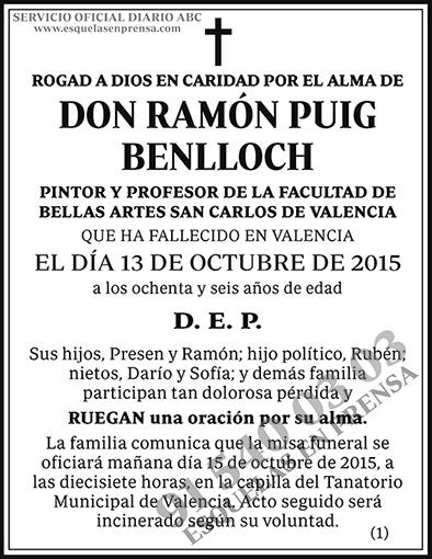Ramón Puig Benlloch